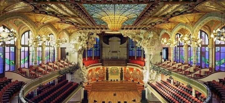Interior Palau de la Muscia Catalunya