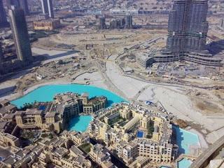 construccion rascacielos Burj Khalifa (Burj Dubai)
