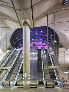 Canary Wharf Underground Station, United Kingdom