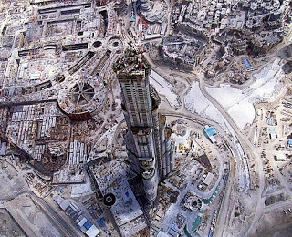 rascacielos Burj Khalifa - Dubai