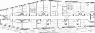 plano Diseño Hotel Enzo Gautrand Architects