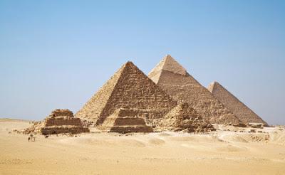 Pirámides de Guiza las 7 maravillas del mundo antiguo
