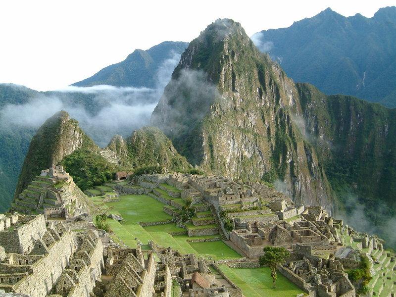 Las Ruinas de Machu Picchu - 7 maravillas del mundo