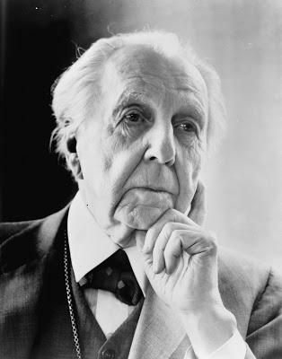 Arquitecto famoso Frank Lloyd Wright