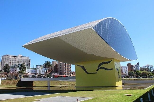 NOVO MUSEO DEL OJO Oscar Niemeyer