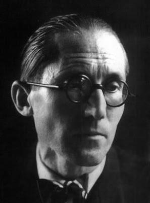 Arquitecto famoso Le Corbusier