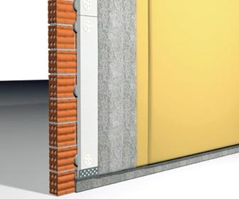 Aislante t rmico del muro en una fachada convencional - Tipos de aislantes termicos ...