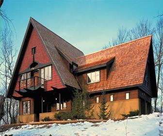 Planos de casas chalets modernos arquitexs - Fotos chalets modernos ...