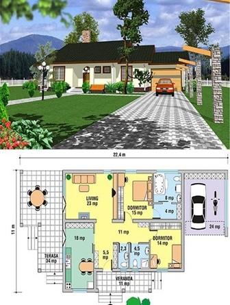 Planos recomendados de casas prefabricadas arquitexs for Disenos y planos de casas prefabricadas