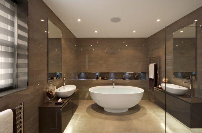 Consejos para la decoraci n de ba os modernos arquitexs for Decoracion de interiores banos modernos