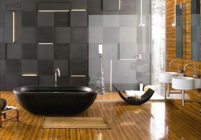 bano-moderno-banera-negra-madera