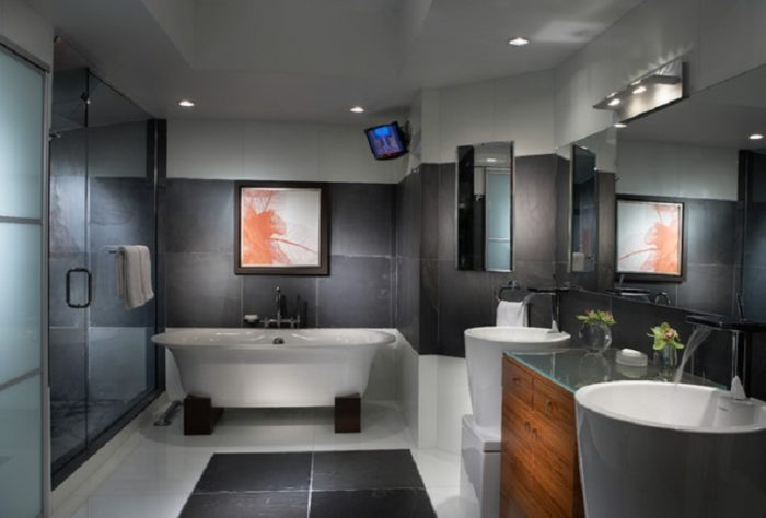 Consejos para la decoraci n de ba os modernos arquitexs for Ambienti arredamenti