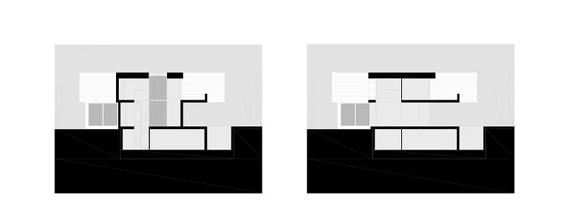 6 casas adosadas con fachada minimalista for Proyectos casas minimalistas