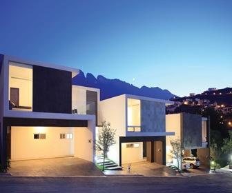 Planos de casas modernas conjunto residencial por glr for Planos de casas modernas mexicanas