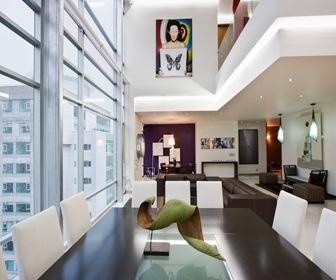 Departamento duplex penthouse dd arquitectura en for Diseno de interiores departamentos modernos
