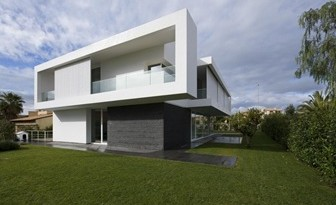 35 fotos de fachadas de casas modernas arquitexs for Fachadas de casas modernas en italia