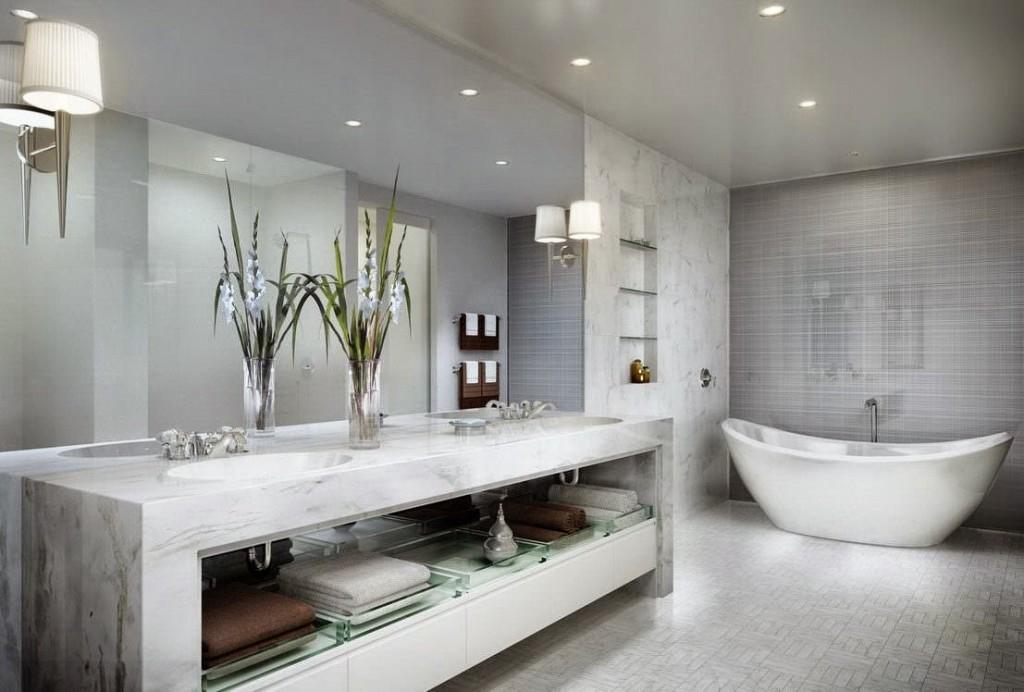 Diseño de baños con ambiente fresco y renovado   ArQuitexs