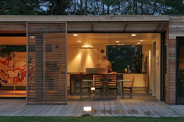 Moderna casa de madera arquitecto johan sundberg suecia arquitexs - Diseno casa de madera ...