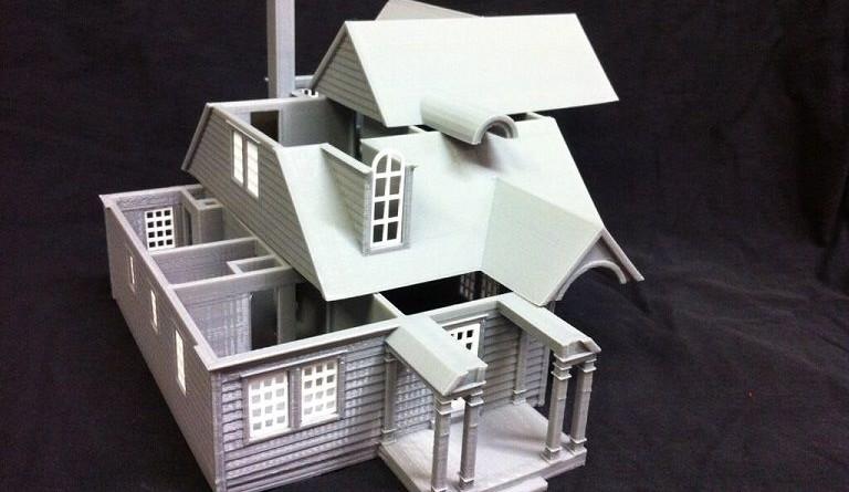 Maquetas 3d archivos arquitexs for Casa moderna gardone