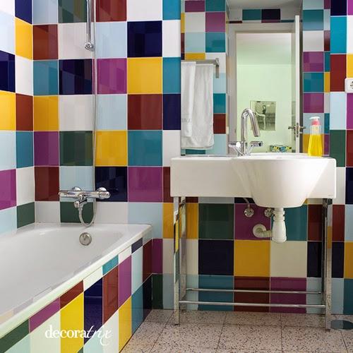 Consejos para pintar azulejos de ba os arquitexs - Pinturas para pintar azulejos ...