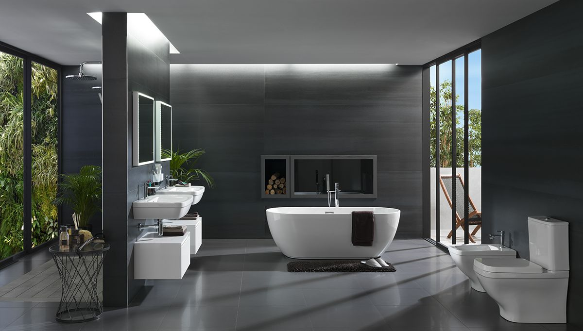 Ba o con inspiraci n ecol gica arquitexs for Disenos de banos de casas modernas