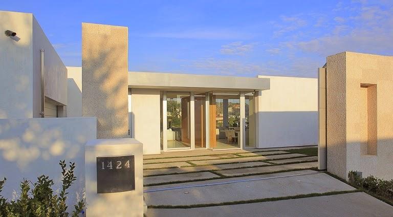 Hollywood hills residence con sistema de acristalamiento for Casas minimalistas en una sola planta