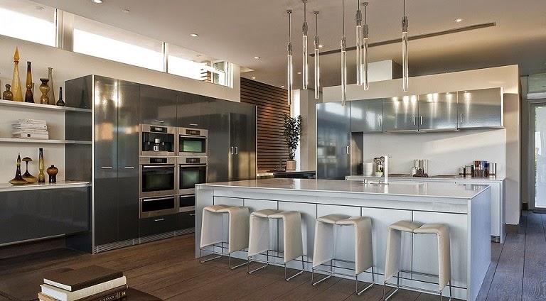 cocina-moderna-Casa-Blue-Jay-Way-McClean-Design