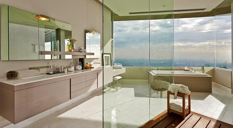 baño-de-diseño-Casa-Blue-Jay-Way-McClean-Design