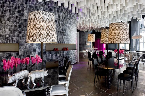 decoracion-comedor-Barcelo-Raval-Hotel