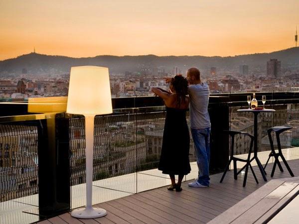terraza-vistas-ciudad--barcelona-Barcelo-Raval