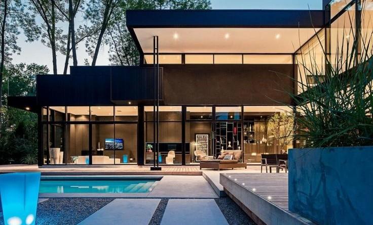 Casa moderna 44 Belvedere / Studio Guido Constantino, Canadá.