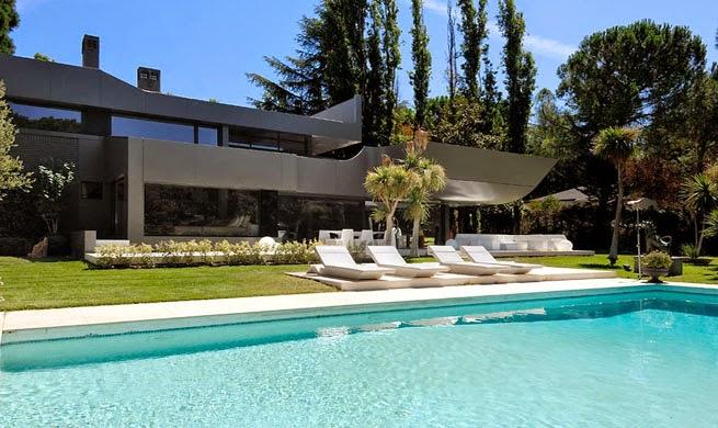 piscina-Casa B-N Arquitectos A-cero, Madrid
