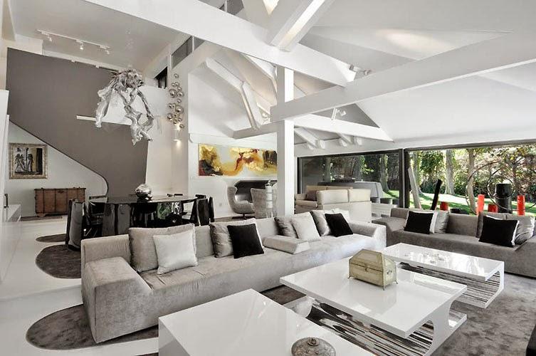 sala de estar-Casa B-N Arquitectos A-cero, Madrid