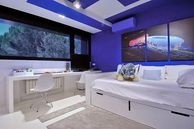 decoracion-pared-azul