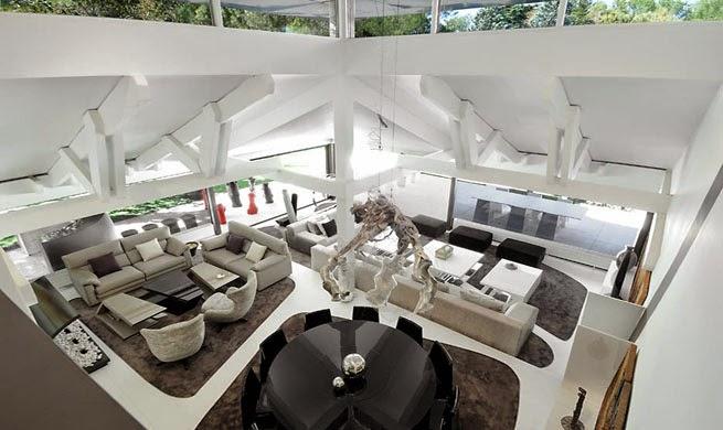 interior-Casa B-N Arquitectos A-cero, Madrid