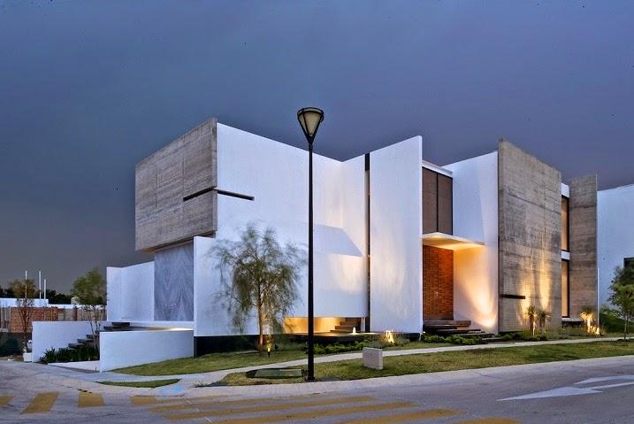 fachada-Arquitectura Casa X / Agraz Arquitectos