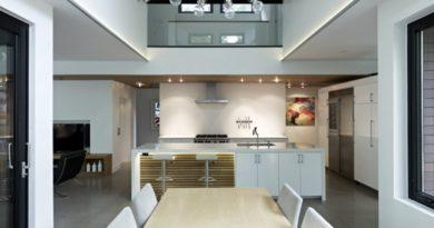 Casa de playa de arquitectura moderna