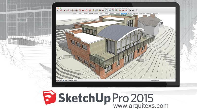SketchUp Pro programa de modelado diseño 3D para profesionales