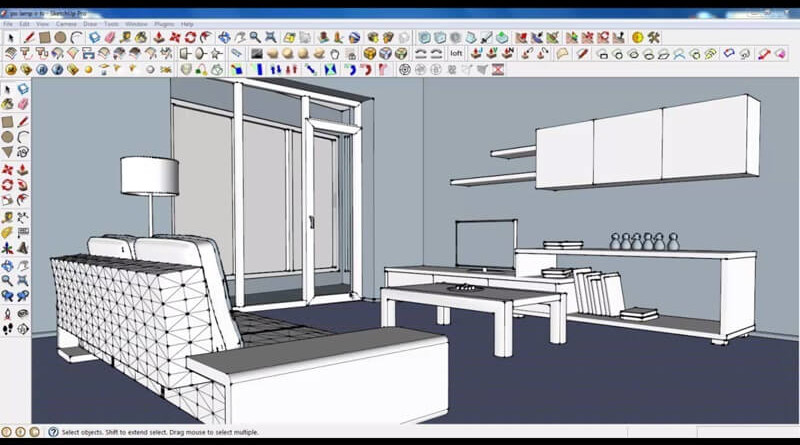 13 razones para dise ar con sketchup pro arquitexs for Programa para disenar muebles gratis espanol