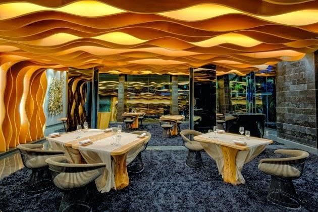 Hotel contempor neo villa iniala beach house en phuket for Disenos de interiores restaurantes