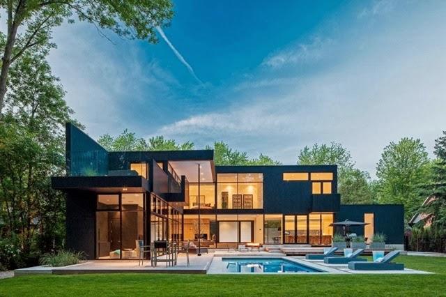 Casa moderna 44 Belvedere / Studio Guido Constantino, Canadá