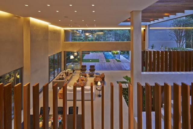 interior-Casa Bosque da Ribeira