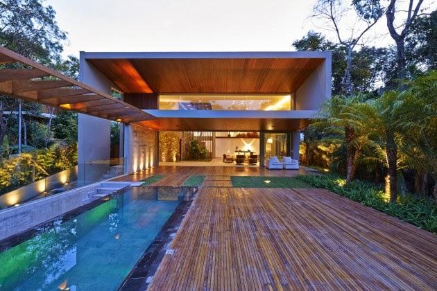 Casa Bosque da Ribeira Anastasia Arquitetos
