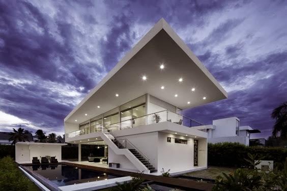 Casa moderna Peñon / Giovanni Moreno arquitecto, Colombia