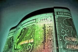Edificio-fachada-Billete-1000-Kaunas-Lituania