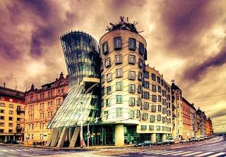 La casa danzante, en Praga - República Checa