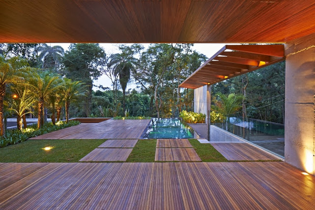 terraza-Casa Bosque da Ribeira