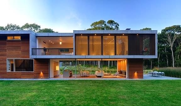 Casa moderna Pryor / Bates Masi + Architects, Nueva York