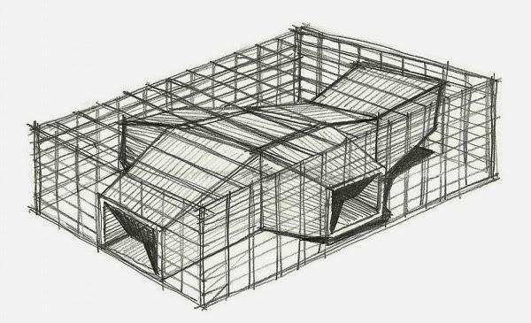 Croquis Arquitectura BAR Casa Cor Bar