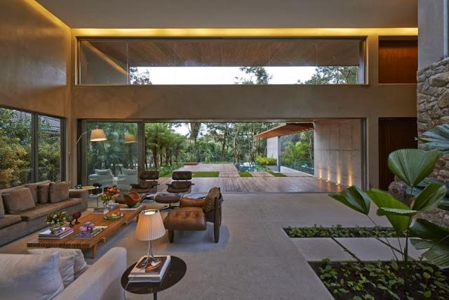 diseño-interior-Casa Bosque da Ribeira